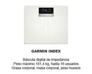 Oferta Garmin Index bascula impedancia