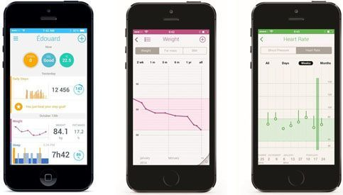 Withings Smart Body analyzer movil smartphone